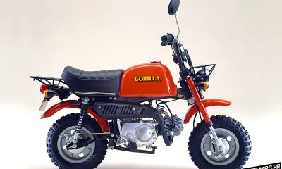Honda Monkey Gorilla rouge de 1978 - mini4temps.fr