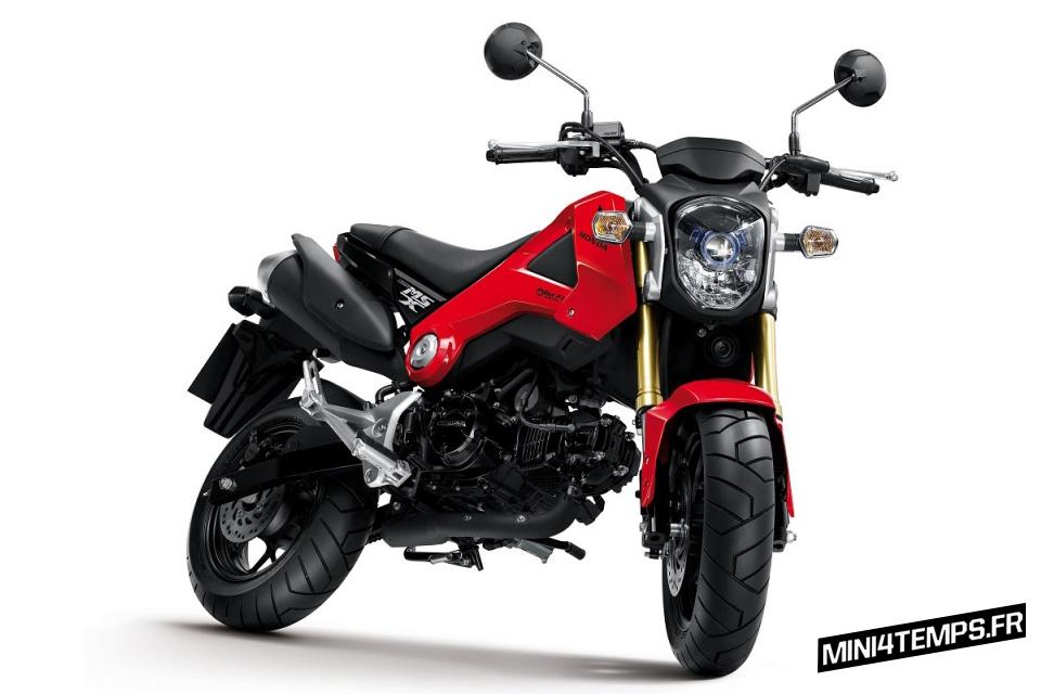 Honda MSX 125 modèle 2013 - mini4temps.fr