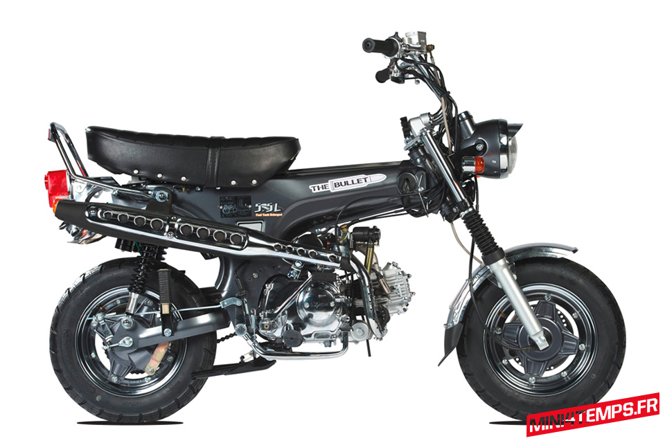 Le Skyteam Dax, réplique du Honda Dax - mini4temps.fr