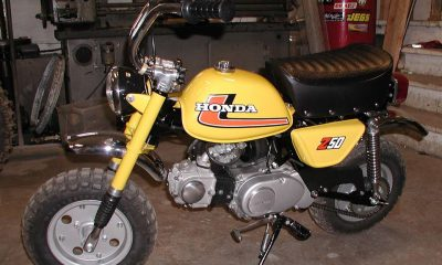 Restauration Honda Monkey Z50 J2 - mini4temps.fr