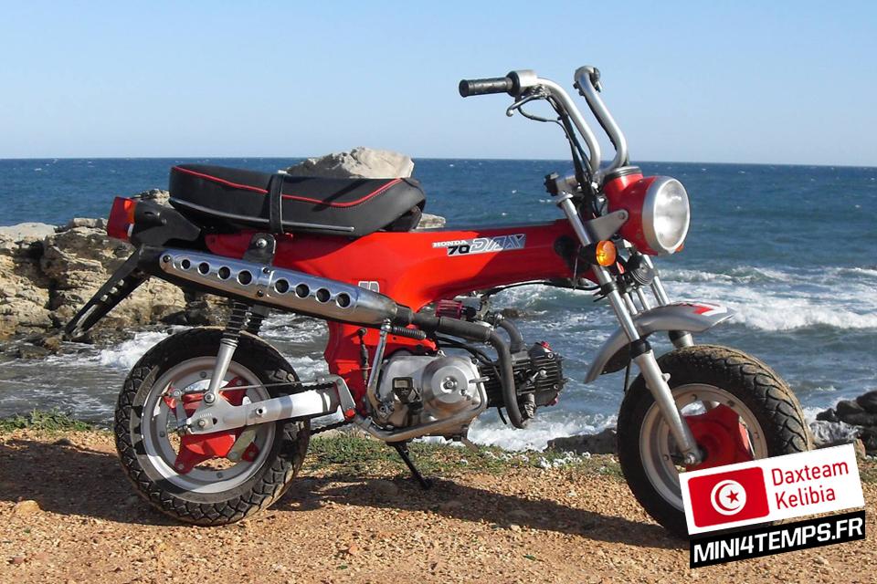 Daxteam Tunisia - Kelibia - Honda Dax ST70 - mini4temps.fr