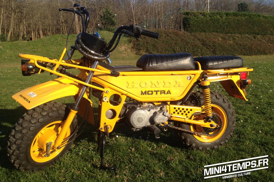 Belle restauration d'un Honda Motra - mini4temps.fr