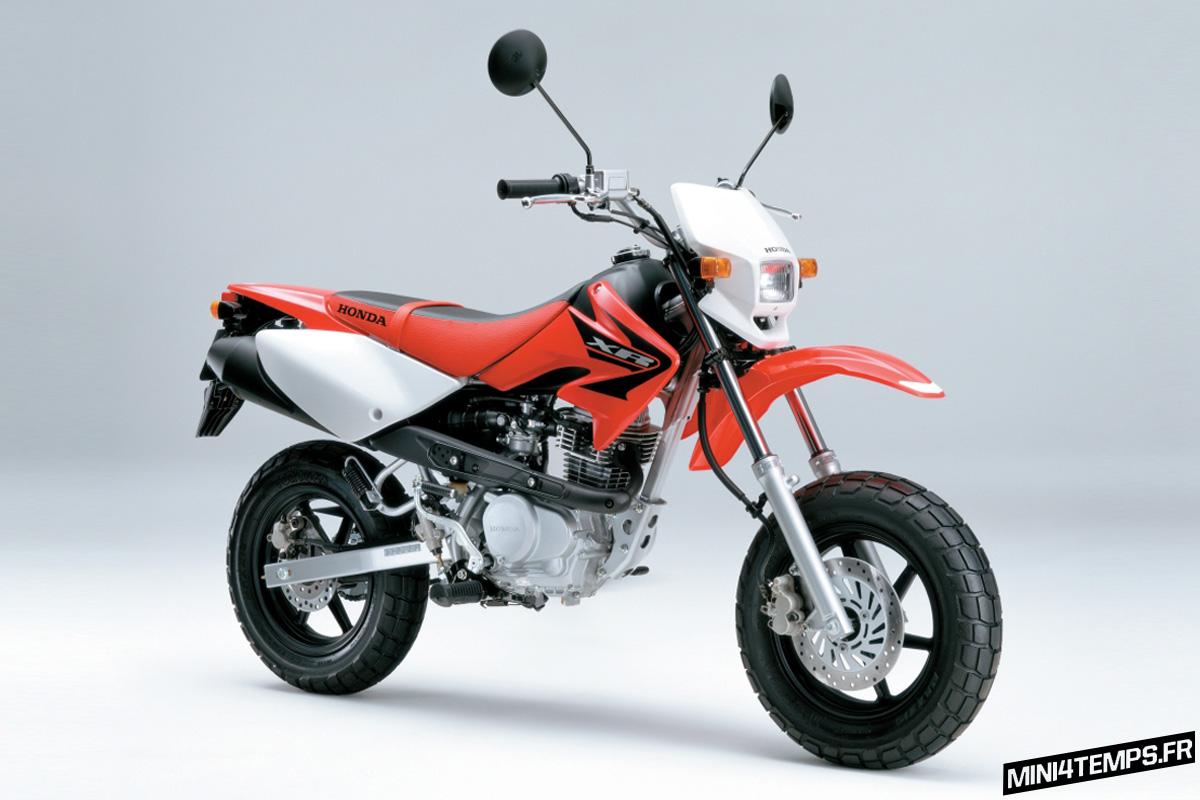 Honda XR100 Motard - mini4temps.fr