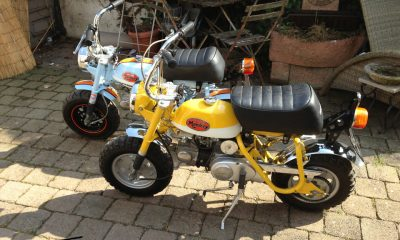 Restauration Honda Monkey Z50A Gulf - mini4temps.fr