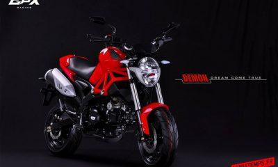 GPX Demon 125 : la mini-Ducati Monster sauce Thaï - mini4temps.fr