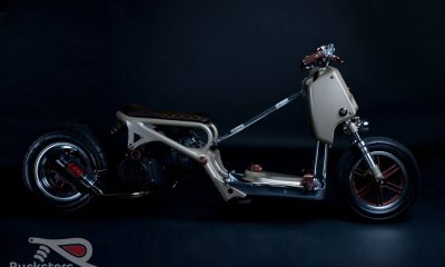 Honda Ruckus LV Project by Rucksters Customs™ - mini4temps.fr
