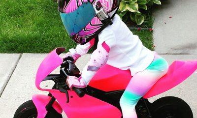 Kymmee Johnson - 2 years old rider - mini4temps.fr