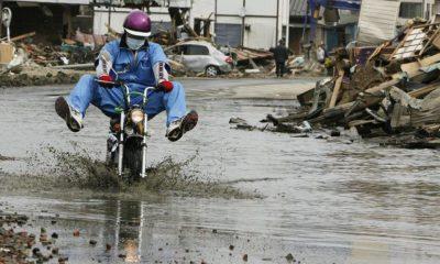 Moto et inondations - mini4temps.fr