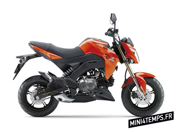 Kawasaki Z125 - mini4temps.fr