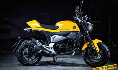 Motrac M6, mini Ducati Scrambler made in China - mini4temps.fr