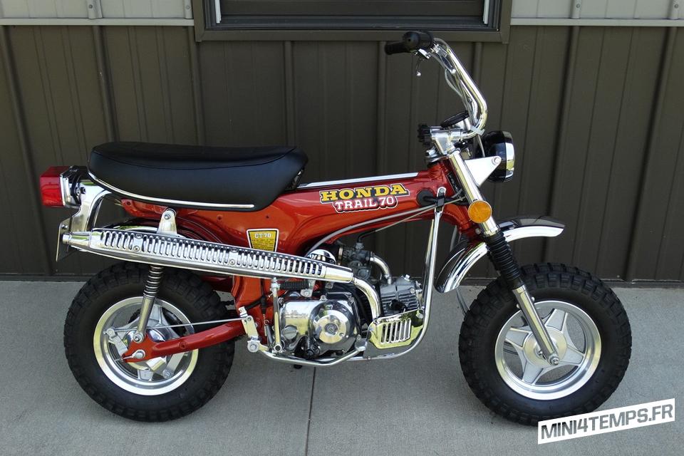Le Honda CT70 Trail 70 K2 de 1973 de Joe - mini4temps.fr