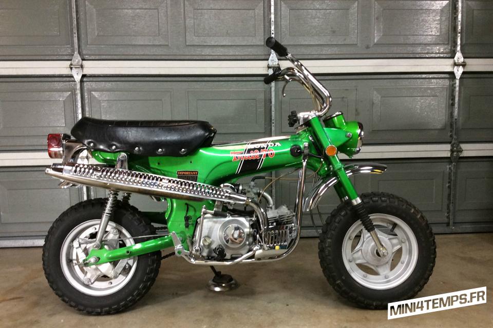 Honda Dax CT70 US Emerald Green - mini4temps.fr