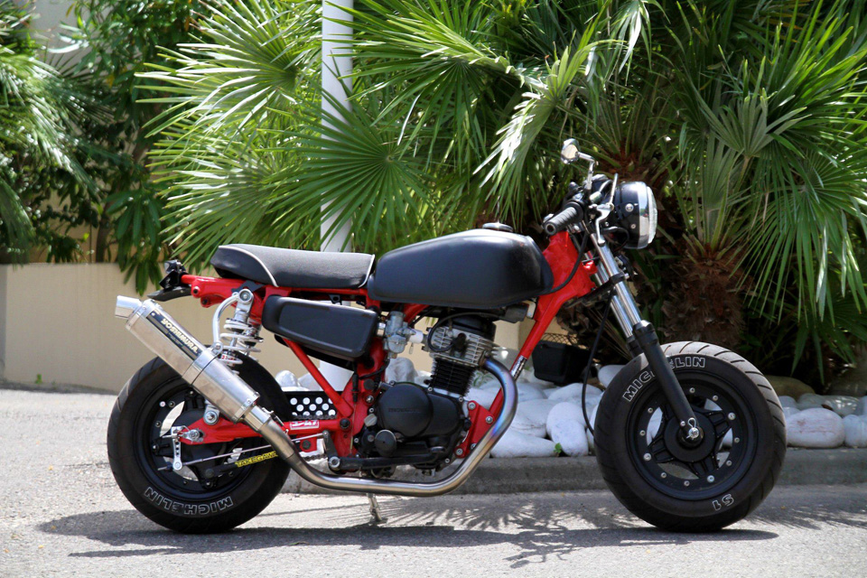 Le Honda CY80 de John - mini4temps.fr