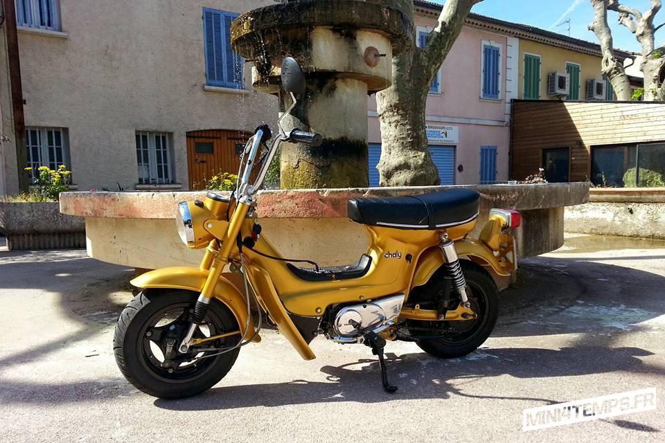 Le Honda Chaly CF70 de Cédric - mini4temps.fr