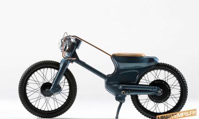 Deus Electric, le Honda Cub revisité - Honda Cub C90 mini4temps.fr