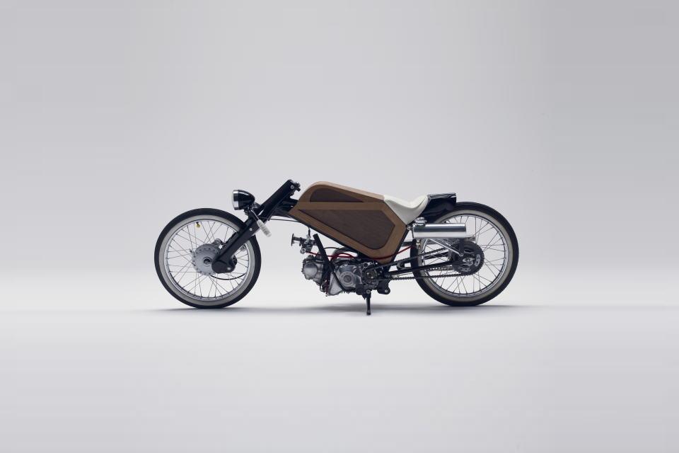 Honda Cub Wood Luck - mini4temps.fr