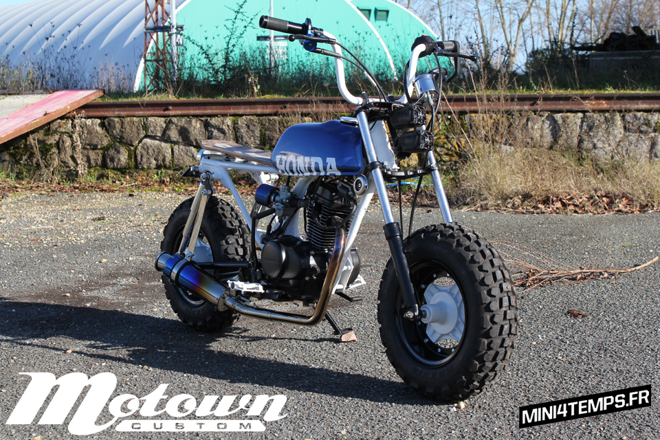 Honda CY80 customisé par Motown Custom - mini4temps.fr