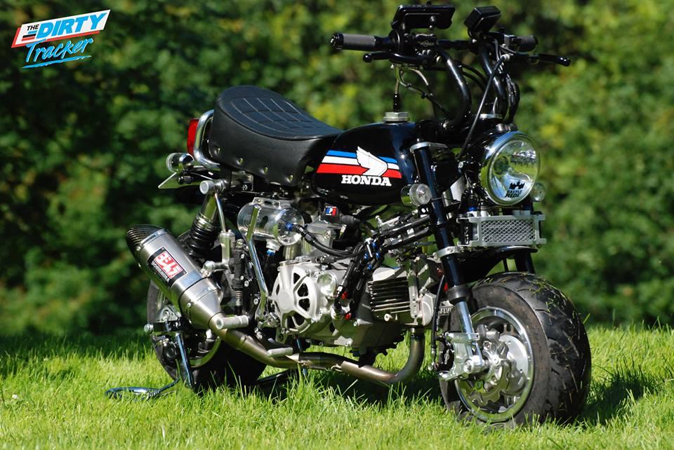 Le Monkey J1 DOHC Black de Dirty Tracker - mini4temps.fr
