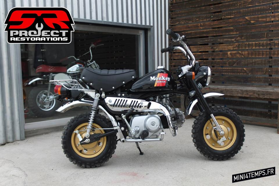 Le Honda Monkey Z50J de SR Project Restorations - mini4temps.fr