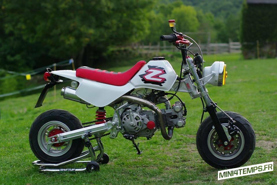 Le Honda Monkey Z50R de Regis - mini4temps.fr