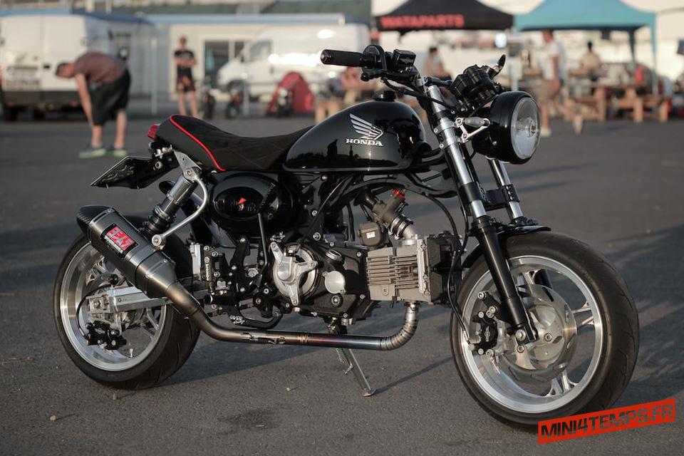 Un Honda Monkey survitaminé ! - mini4temps.fr