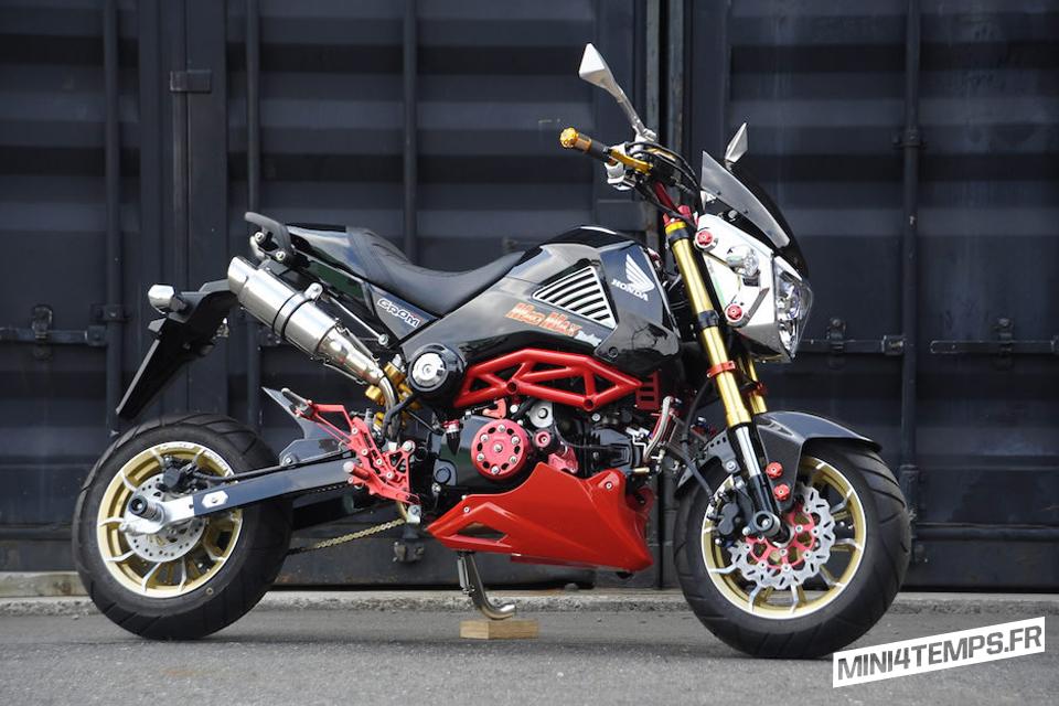 Le Honda MSX 125 de Mad Max - mini4temps.fr