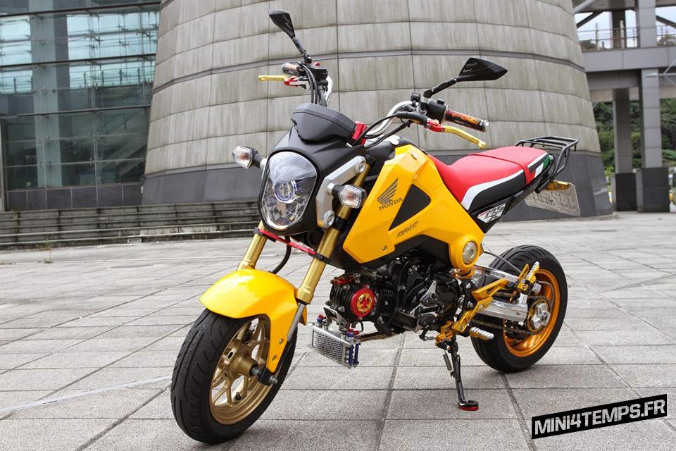 Le Honda MSX 125 de 健弘車業 - mini4temps.fr