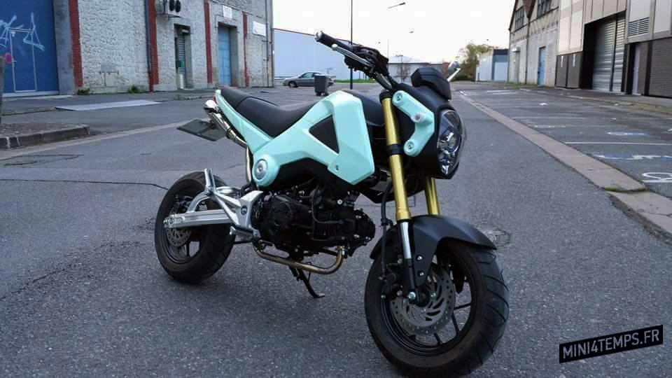 Honda MSX 125 Kit Yuminashi 160 - mini4temps.fr