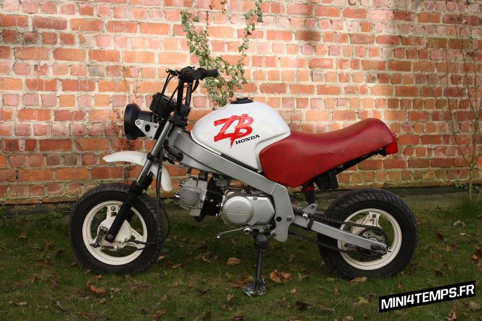 Le Honda ZB de Gérald - mini4temps.fr