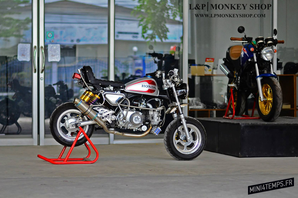 Monkey Café Racer by LP Monkeyshop - mini4temps.fr