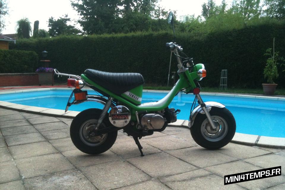 Yamaha Chappy 72cc modèle 592 - mini4temps.fr
