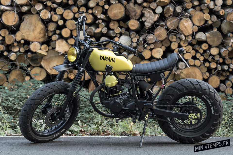 Yamaha TW 125 by Le French Atelier - mini4temps.fr