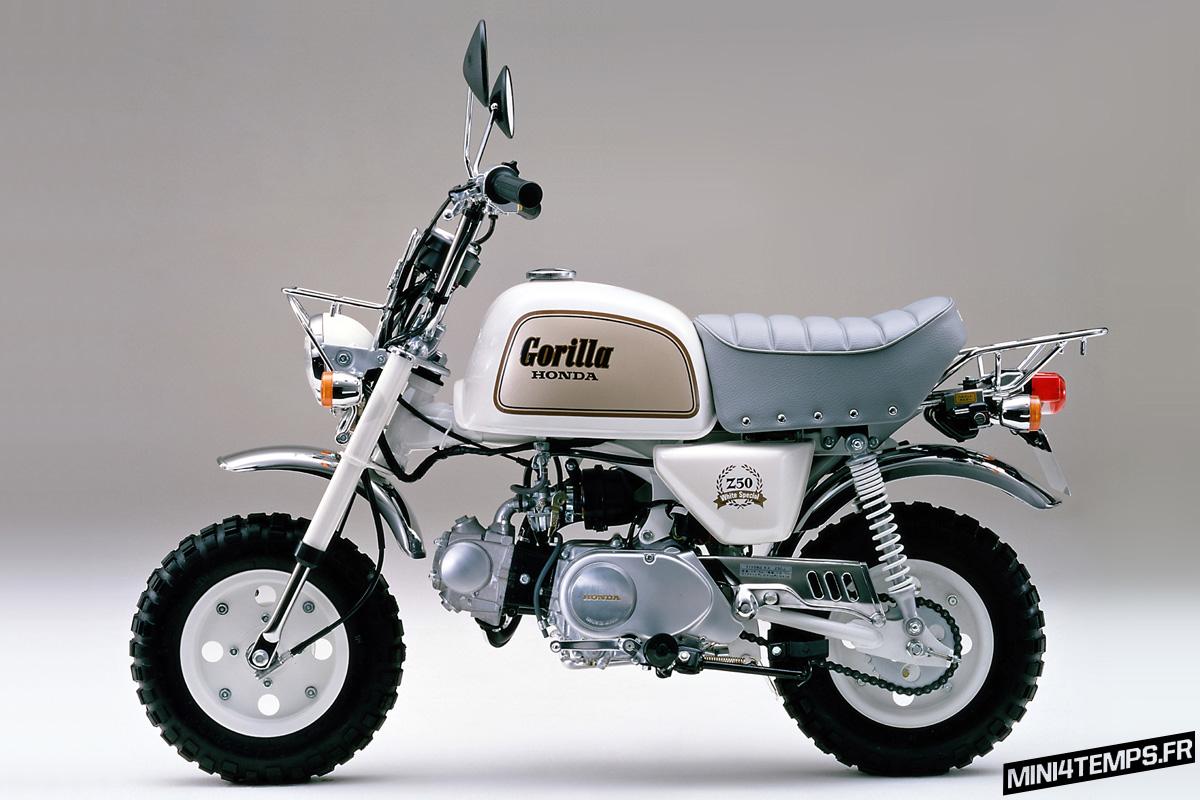"Honda Gorilla ""White Special"" 1988 - mini4temps.fr"