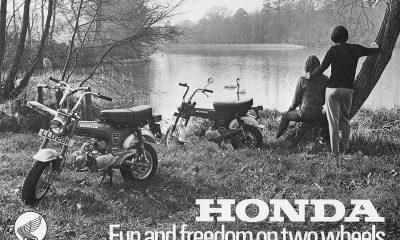 Brochure vintage Honda Dax ST70 - mini4temps.fr