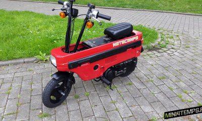 Honda Motocompo rouge - mini4temps.fr