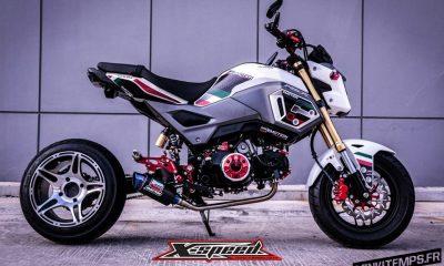 Honda MSX 125 SF by X-Speed Land Thailand - mini4temps.fr