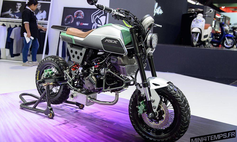 Les Honda MSX 125 SF du Bangkok International Motor Show ...