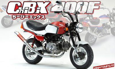 Transformer votre Honda Monkey en mini CBX 400F - mini4temps.fr