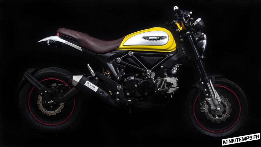 Lifan sort la réplique du Ducati Scrambler : le Hunter 125cc - mini4temps.fr