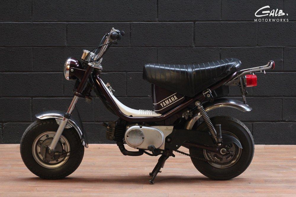 Yamaha Chappy by Galb Motorworks - mini4temps.fr