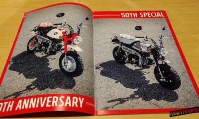 Honda MONKEY 50th spécial brochure - mini4temps.fr