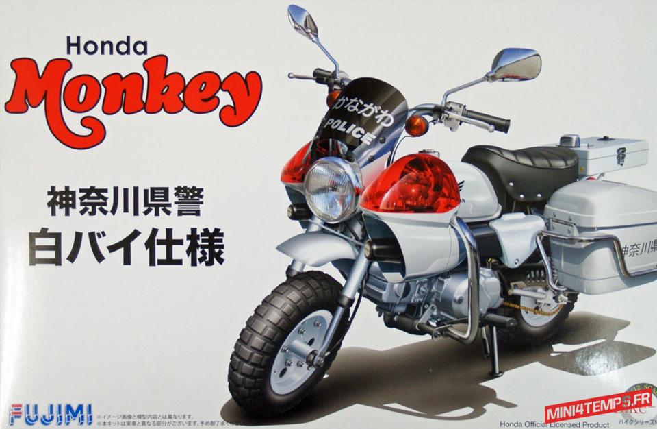 Maquette Fujimi Honda Monkey Police - mini4temps.fr
