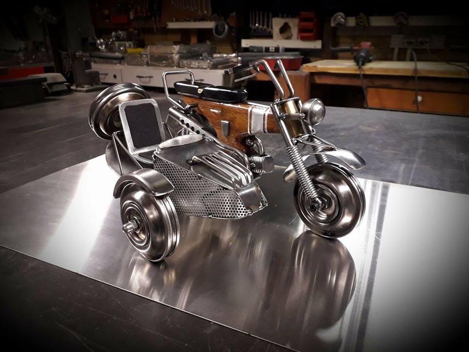 L'Atelier du Petit Buisson, miniatures motos - mini4temps.fr