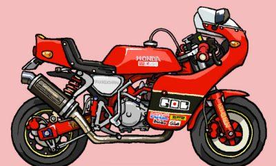 Des dessins de Honda Monkey - mini4temps.fr