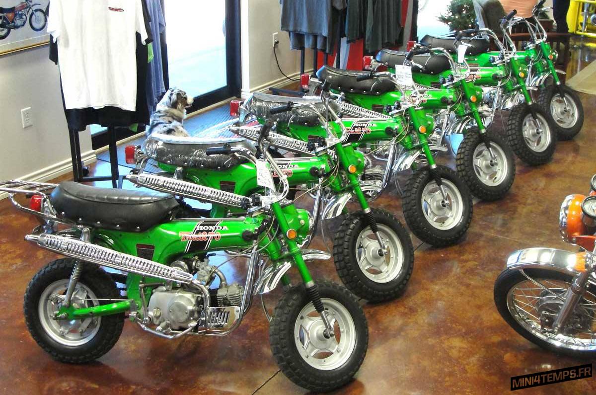 Honda Dax CT70 Emerald Green By CHP Motorsports - mini4temps.fr