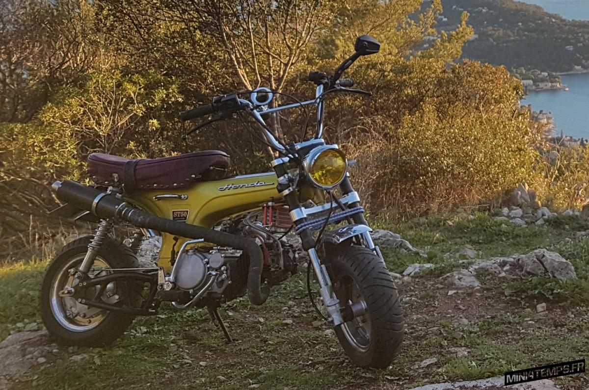 Le Honda Dax OT de 1973 de Victor - mini4temps.fr