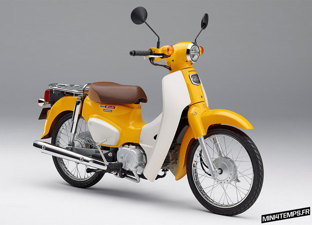 Honda Super Cub 2018 - mini4temps.fr