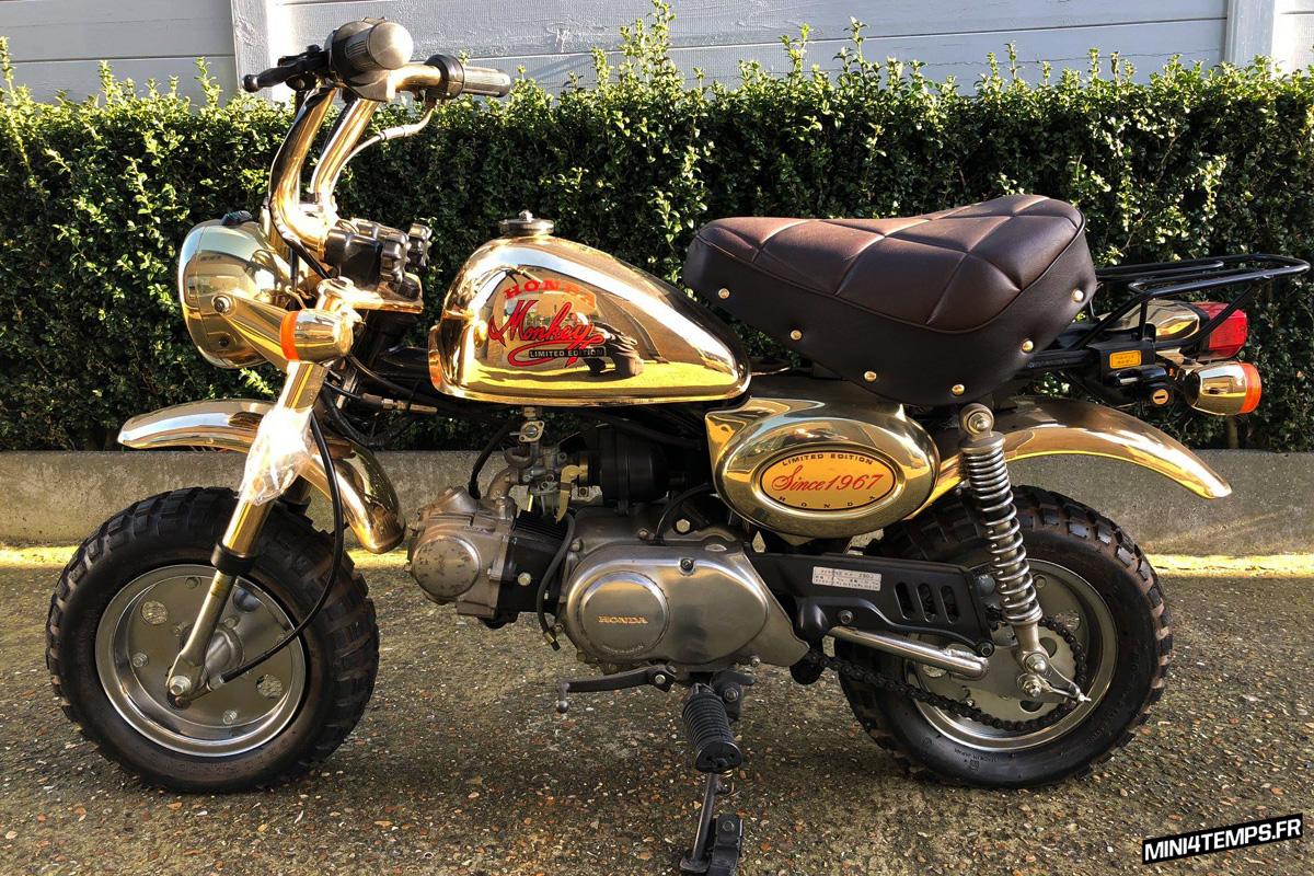 Honda Monkey Gold 1984 Limited Edition - mini4temps.fr