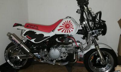 Le Honda Monkey Z50R de Nicolas - mini4temps.fr