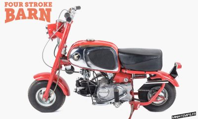 A VENDRE : Honda CZ100 entièrement restauré - mini4temps.fr